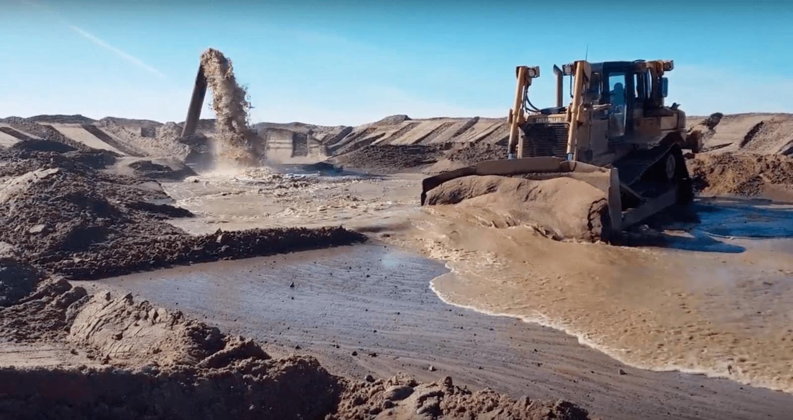 намывной или мытый песок