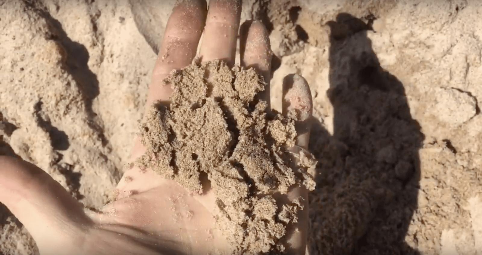 намывной строительный песок