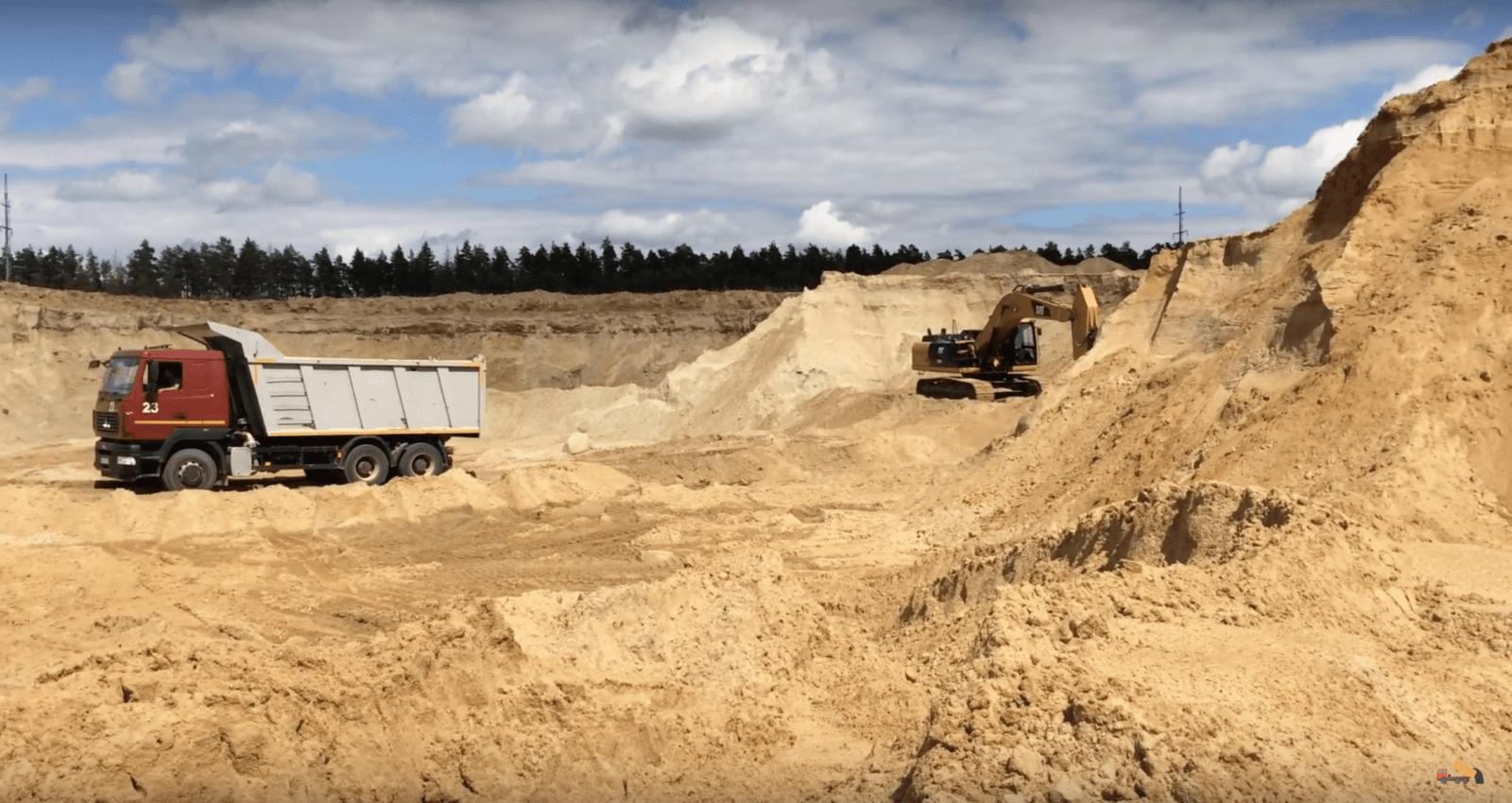 оквэд песок строительный