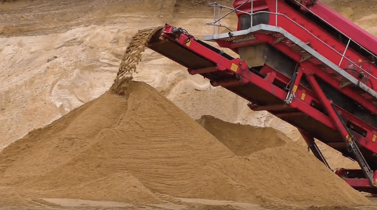 сеяный песок купить спб